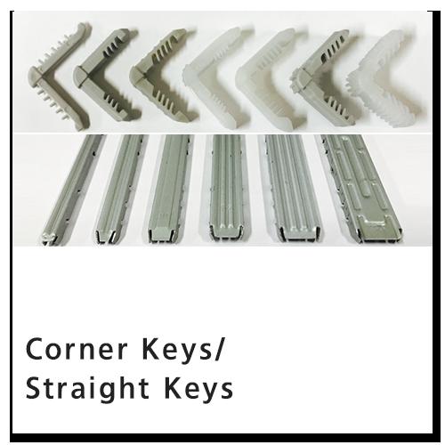 Corner Keys/ Straight Keys